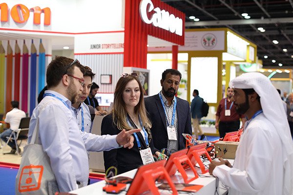 Demonstration of Canon products at GESS Dubai